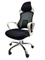 Крісло офісне Eclipse D38W White, фото 1