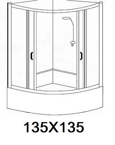 Гідробокси розміром 135х135