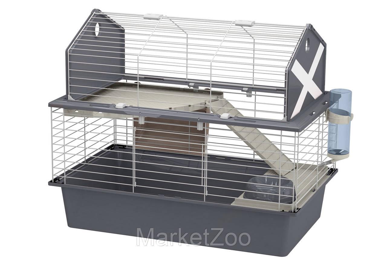 Клетка Ferplast BARN 80 для кроликов, серая