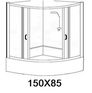 Гідробокси розміром 150х85