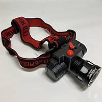 Аккумуляторный налобный фонарь CB-0604-T6