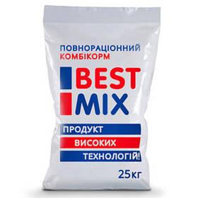 Відгодівельний комбікорм Best Mix для індиків з 56 дня, 25 кг