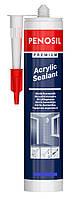 Герметик акриловый  PENOSIL Acrylic Sealant эластичный белый 310 мл, фото 1