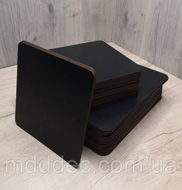 Подложка для торта квадратная черная 35*35 см. Подставка под торт. Усиленная подложка для торта.