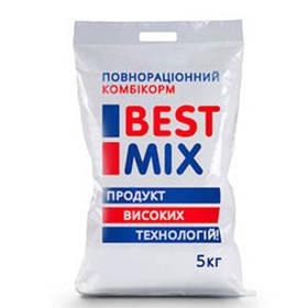 Стартовий комбікорм Best Mix для несучок, качок, гусей від 1 до 9 тижнів, 5 кг