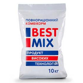 Стартовий комбікорм Best Mix для несучок, качок, гусей від 1 до 9 тижнів, 10 кг