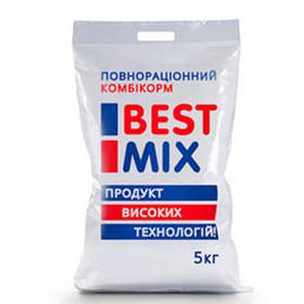 Ростової комбікорм Best Mix для несучок, качок, гусей від 9 до 18 тижнів, 5 кг