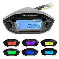 Универсальный мото спидометр панель приборов тахометр до 13000 оборотов/мин