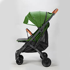 Коляска Yoya Plus Pro Зеленая, рама черная