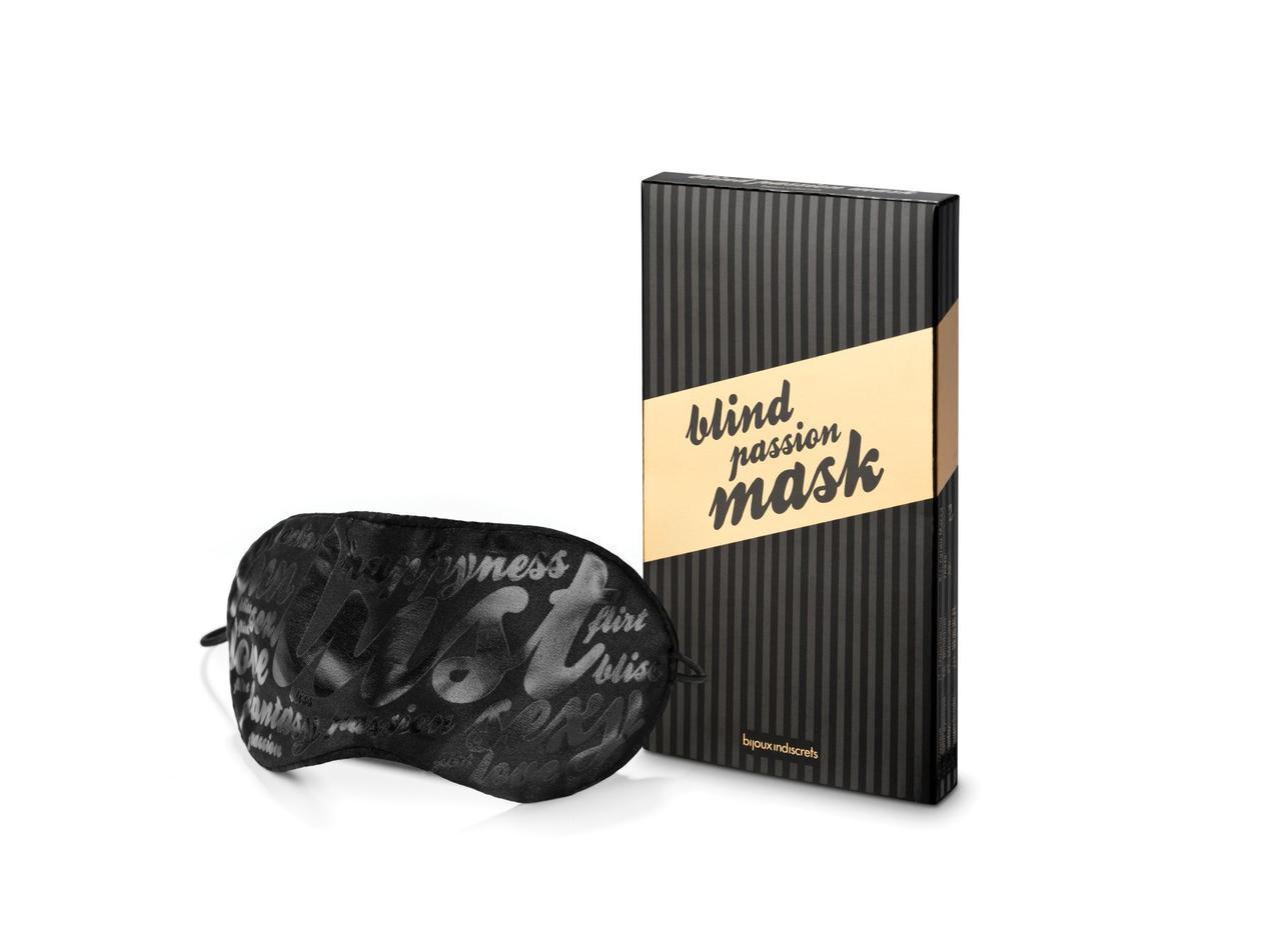 Маска на глаза Bijoux Indiscrets - Blind Passion Mask