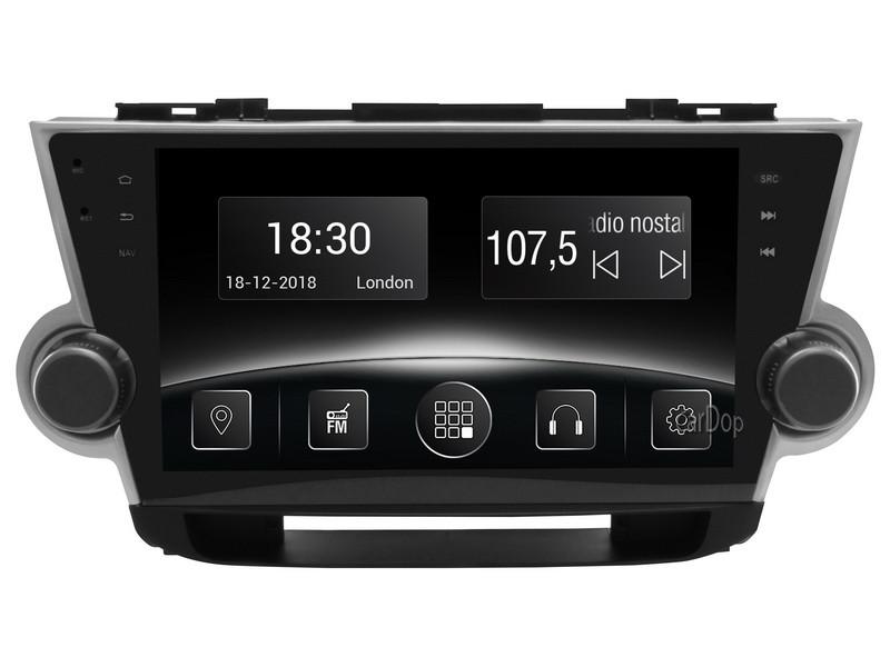 Штатна магнітола Toyota Highlander XU40 2008-2015