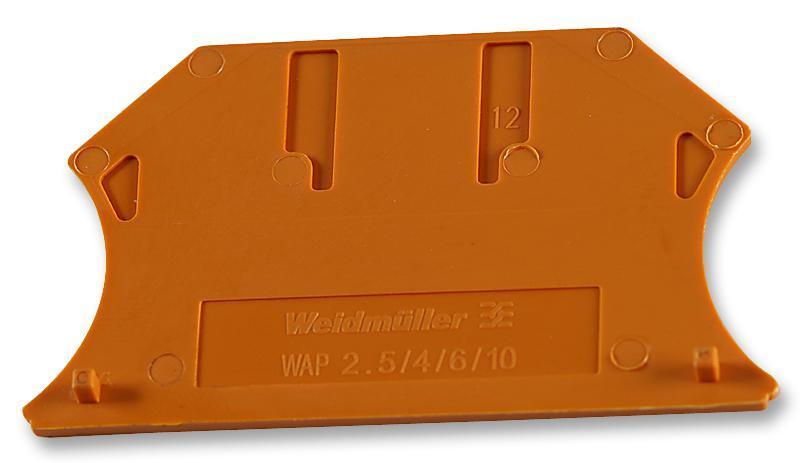 Weidmuller Концевая пластина перегородка WAP 2.5-10 OR (100 шт), 1050060000
