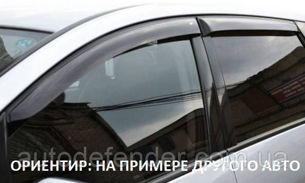 Дефлекторы окон (ветровики) Toyota Tundra II CrewMax 2007-2020, Cobra Tuning - VL, T28307