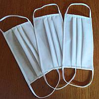 Маска защитная для лица ML 002. В уп. 10 шт. Белые.