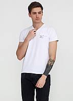 Футболка мужская белая с надписью MSY