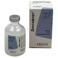 Глюкокортикоидный препарат Дексафорт Intervet для системного применения для КРС, МРС, собак, кошек, 50 мл