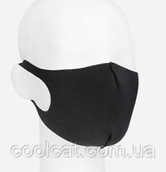 Защитная маска для лица, многоразовая комплект 3 шт. + Подарок / Маска-питта из неопрена