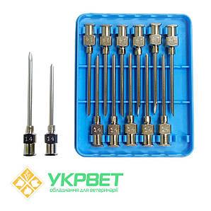 Игла ветеринарная инъекционная LL 2,0 мм (14 G)