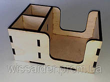 (ЗАГОТОВКА) Барный органайзер (ШВГ 215х105х145) фанера 6мм.