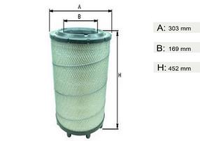 Фильтр воздушный  SCANIA 4 seria/95-, P,G,R,T   1335678