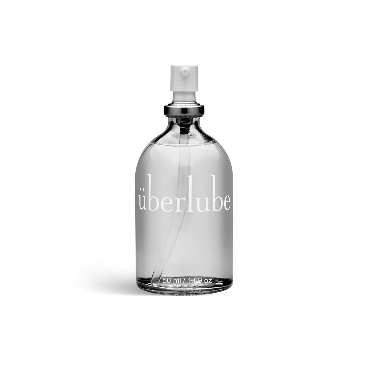 Премиум лубрикант 3-в-1 на силиконовой основе Uberlube (50 мл) для секса, ухода за телом и волосами