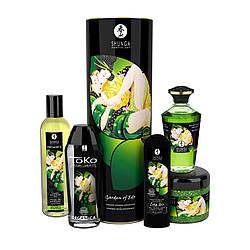 Подарочный набор Shunga GARDEN OF EDO Organic: расслабляющий аромат зеленого чая 18+