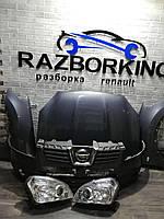 Разборка Nissan Qashqai  запчасти Ниссан Кашкай фара крыло капот бампер двигатель коробка КПП