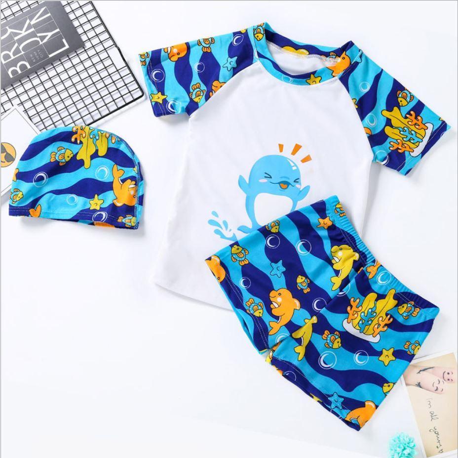 Солнцезащитный купальный костюм для мальчика
