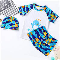 Солнцезащитный купальный костюм для мальчика, фото 1