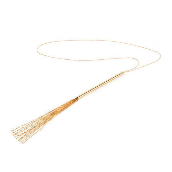 Украшение-плеть Bijoux Indiscrets MAGNIFIQUE Necklace Whip - Gold
