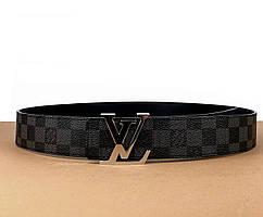Ремень Louis Vuitton канва (Луи Виттон) арт. 61-03