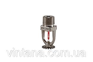 Спринклер пожарный Duyar (Турция), розеткой вниз, быстрого срабатывания, хром.