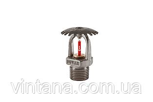 Спринклер пожарный (Duyar Турция),розеткой вверх, стандартного срабатывания, 57, 68, 79°C, хром.