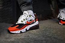 "Кроссовки Nike Air Max 270 React ""Оранжевые"", фото 2"