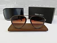 Брендовые мужские солнцезащитные очки Giorgio Armani, фото 1