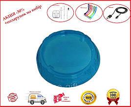 Арена для Бейблейд синяя прозрачная - 46 см- прочный гнущийся пластик