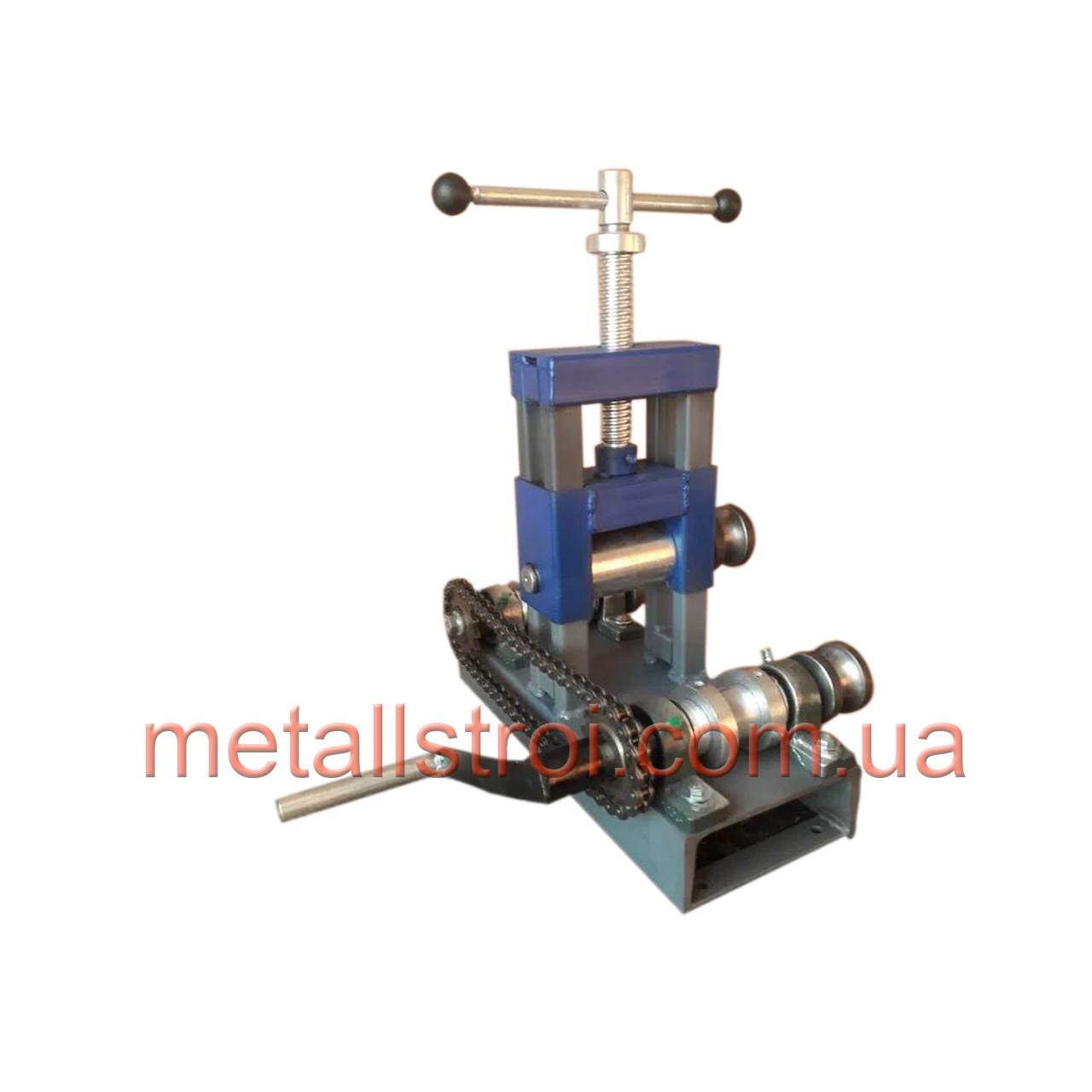 Трубогиб механический ТПУ-1 для круглой и профильной трубы.Профилегиб.