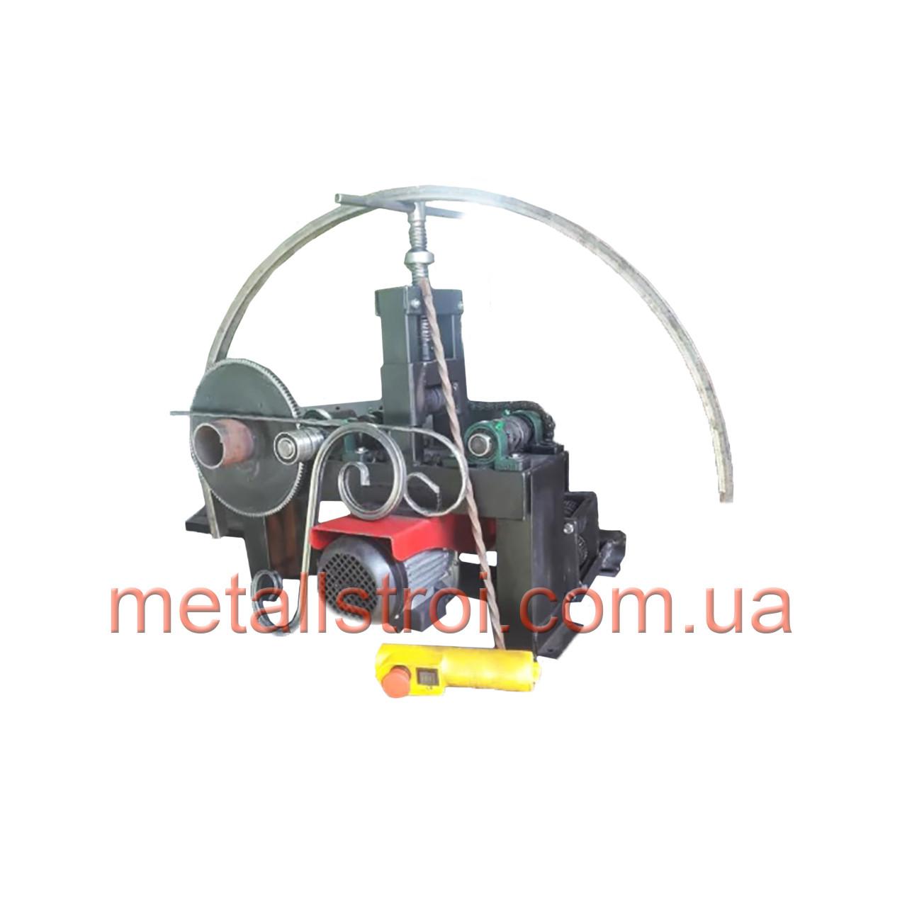 Трубогиб-профилегиб + ковка ТПК-3 с электроприводом