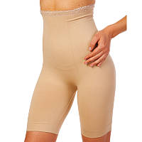 Шорты утягивающие (корректирующая) Slimming shorts, нейлон, эластан, р-р S-3XL, бежевый (ST-9162A-(bg))