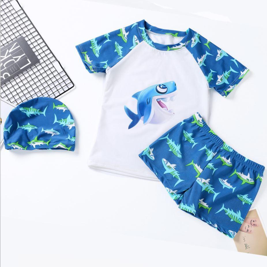 Купальный костюм для мальчика, Акула