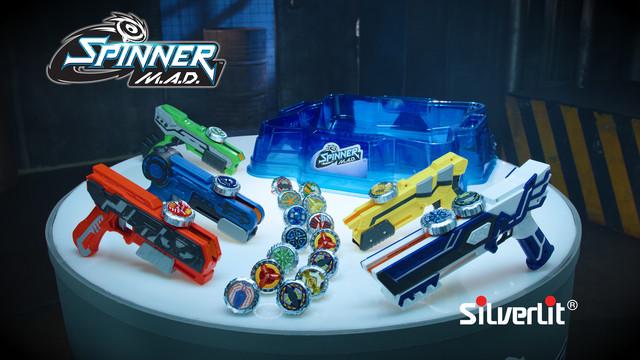 Бластери Silverlit (Spinner M. A. D.)
