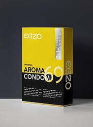 Ароматизированные презервативы EGZO Aroma (упаковка 3 шт) 18+