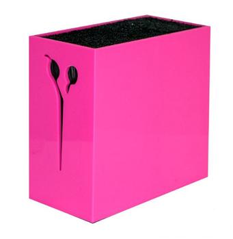 Подставка для ножниц со щетиной Pro Holder Pink (990002-2 ROS)
