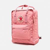 Городской рюкзак Fjallraven Kanken, портфель, школьній рюкзак, ранец, канкен розовый/pink