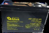 Аккумуляторные батареи Altek AV12-9 AGM