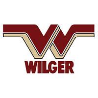 "WILGER RL CAP- 1/4"" NPT F, 45° - RED, 40274-01"