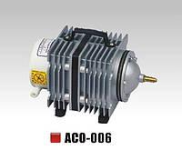 Компрессор воздушный для аквариума и пруда SunSun АСO-006, 85 л/мин.