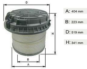 Фильтр воздушный  MB Axor  Actros  OM457   0040942404