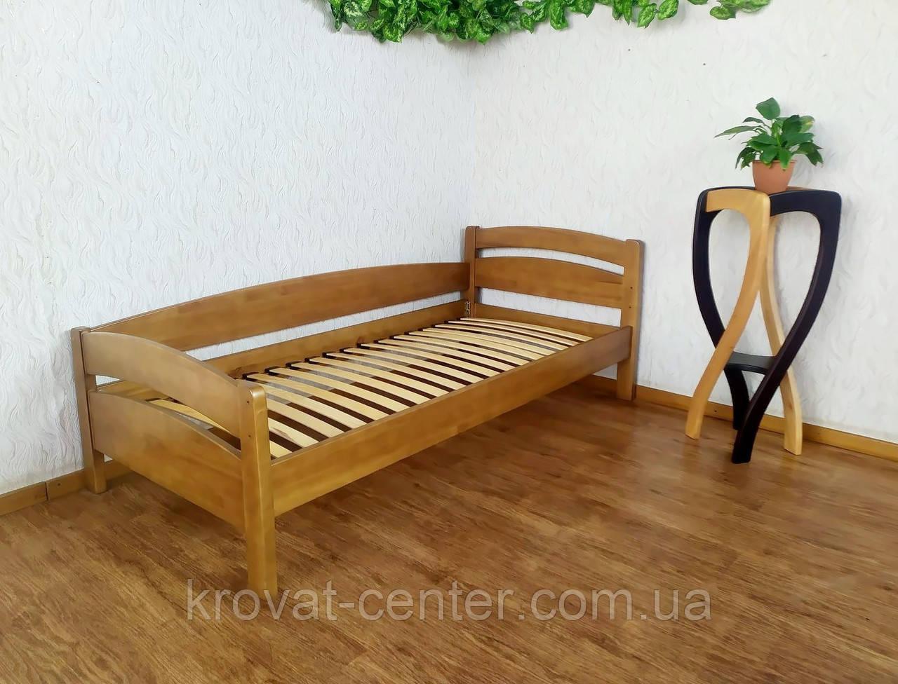 """Подростковая кровать из натурального дерева от производителя """"Марта"""" (светлый дуб)"""