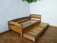 """Подростковая кровать из натурального дерева от производителя """"Марта"""" (светлый дуб), фото 3"""